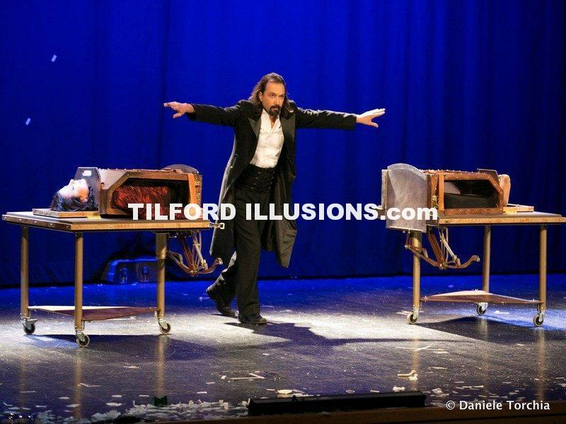 clearly Impossible – Products of Tilford Illusions – Palermo -Italy